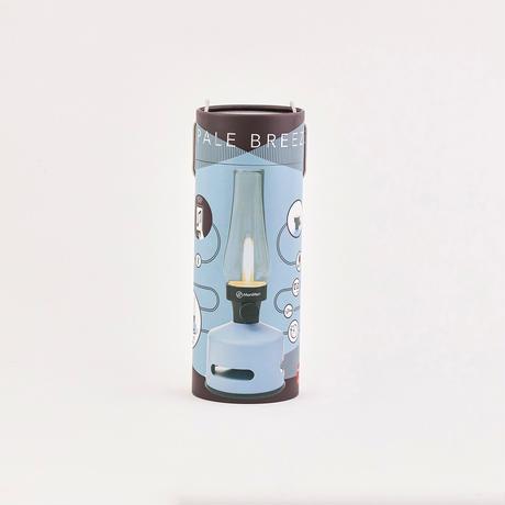 MoriMori LED ランタンスピーカー S PALE BREEZE (グレイブルー色) FLS-2007-GB 4573111800327