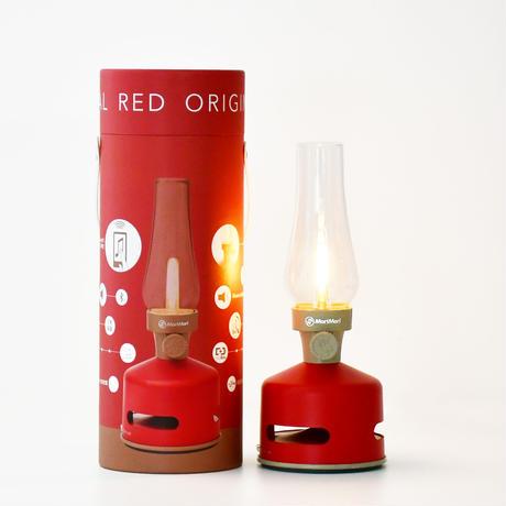 MoriMori LED ランタンスピーカー ORIGINAL RED (レッド色) FLS-1706-RE 4573111800174