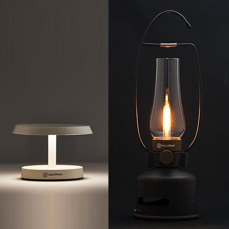 MoriMori  LED ランタンスピーカー とT-Light LOUNGE ホワイト色の 2点セット