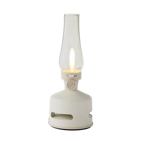 MoriMori LED ランタンスピーカー S BEACH HOUSE (ホワイト色) FLS-2004- WH 4573111800297