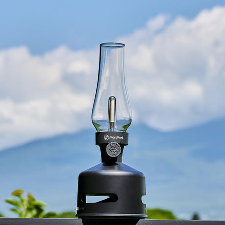 MoriMori LED ランタンスピーカー S PANTERA (ブラック色) FLS-2009-BK 4573111800341