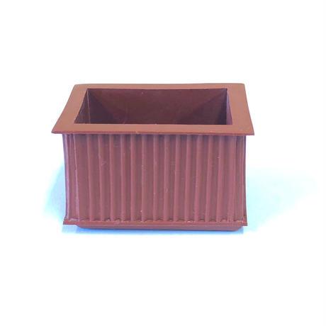 RP椅子ゴム足 茶 平角小 23×36(4個入)