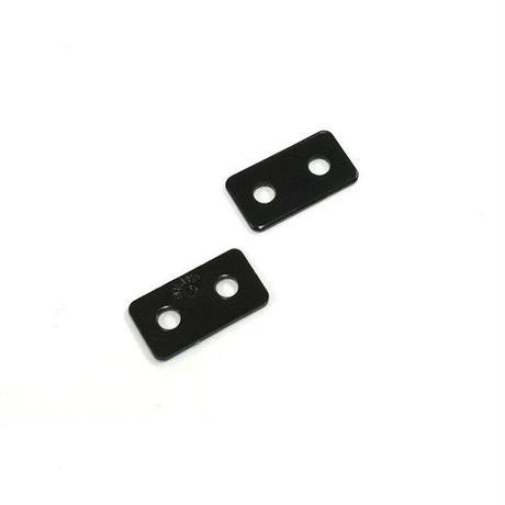 ジョイントミニ平板 黒 18x10(2個入)C-764