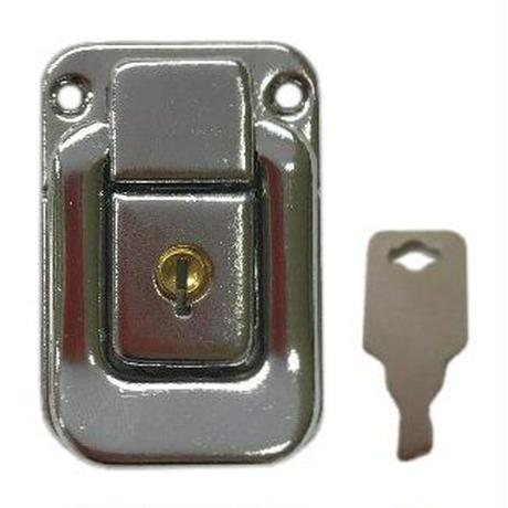 パッチン錠 P-14  鍵付 S-066