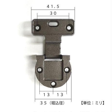 アングル蝶番 18×19 GB