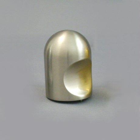 ツマミKN-001 SN サテンニッケル φ20ミリ MT0003