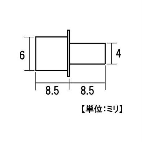 PCナイロンタナダボ 3号 4mm(8個入)