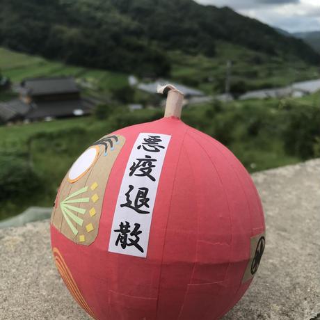 【5号玉サイズ】花火ダルマ【おきあがりこぼし】