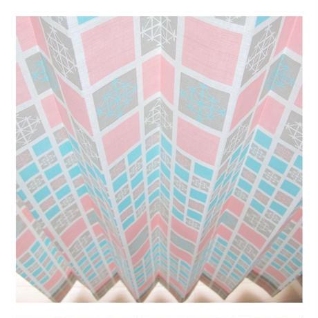 """【CUSTOM CURTAINS】オーダーカーテン""""雪"""":巾 191cm~285cm ・ 丈 50cm~120cm(2枚セット)"""