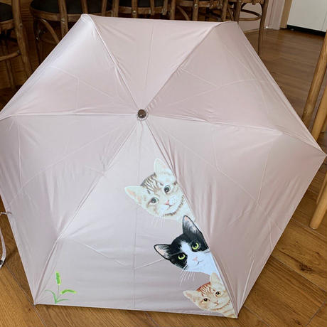 晴れても降っても心が弾む!晴雨兼用折りたたみ傘