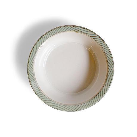 blur 17cm deep plate  白