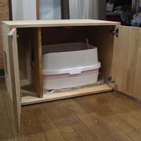 猫のトイレ砂飛散防止ガードBOX