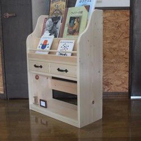 オーダー家具の店 絵本棚引出し付き