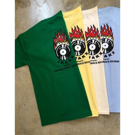Yardies Shack Records  x  JHAKX T-shirts