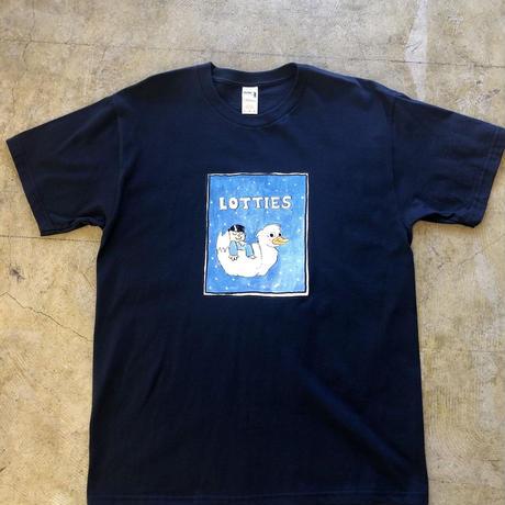 Lottie's skateshop T-shirts(Navy