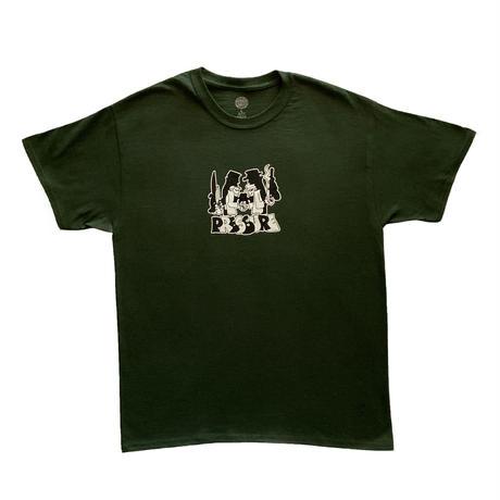 "PRESSURE ""SPY vs SPY"" T-shirts (Green)"