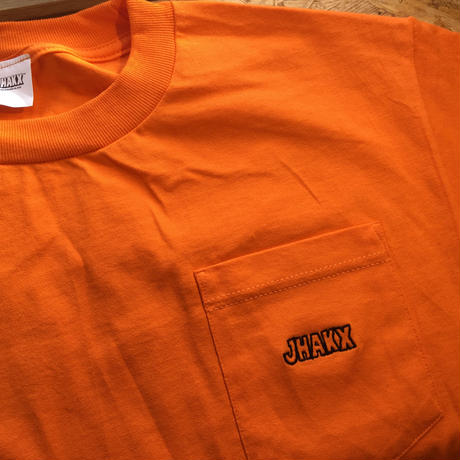 Simple Poket Tee(Orange