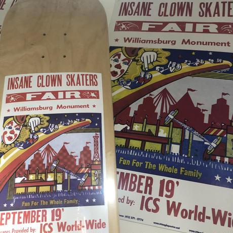 ICS Skateboard(Williamsburg monument spot)8.5inch
