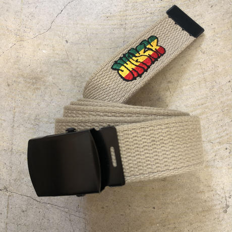 "JHAKX Belt ""DUB WISE "" Sand"