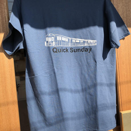 Quick Sunday tee (Blue