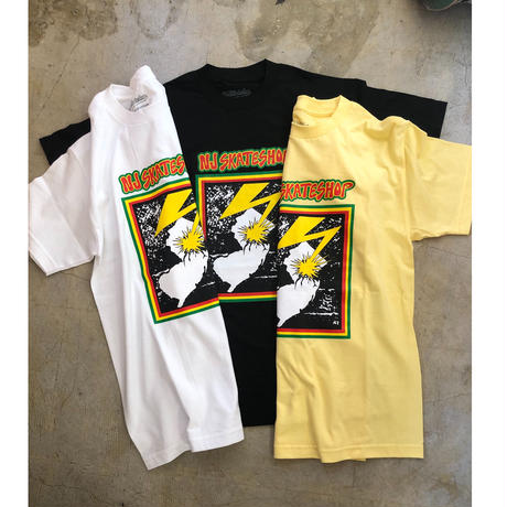 NJ skate shop T-shirts Original T-shirts  (Black