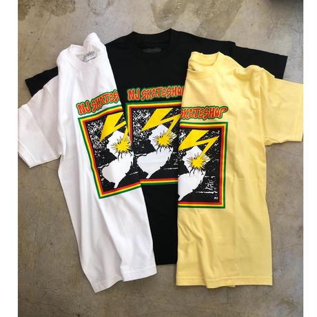 NJ skate shop Original T-shirts (Yellow