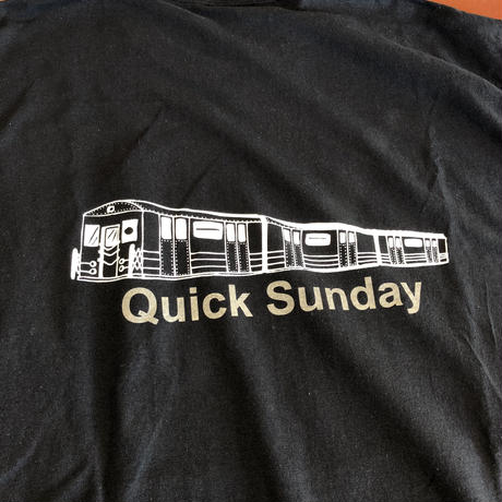 Quick Sunday tee (Black