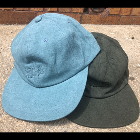 Dye Hemp Hat ( Blue