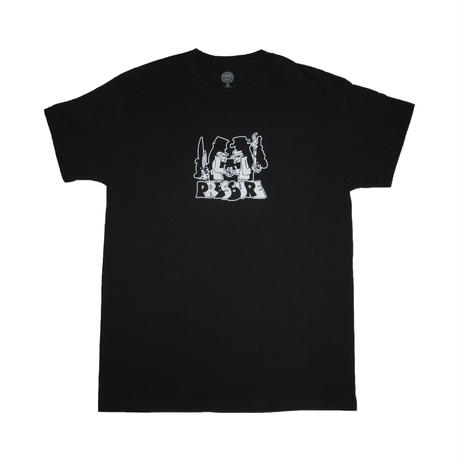 "PRESSURE ""SPY vs SPY"" T-shirts (Black)"