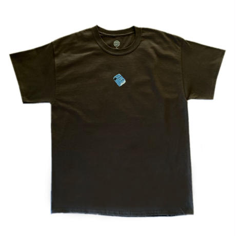 """PRESSURE """"You Hate/ You Lose"""" T-shirts (Brown)"""