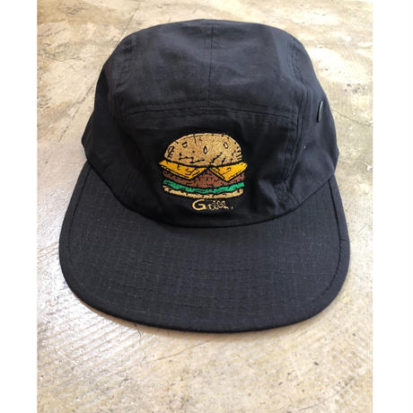Grill skateboard Cap(Black