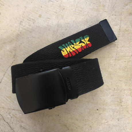 "JHAKX Belt ""DUB WISE "" Black"