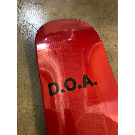 "DOA ""SKYPAGER"" Red"