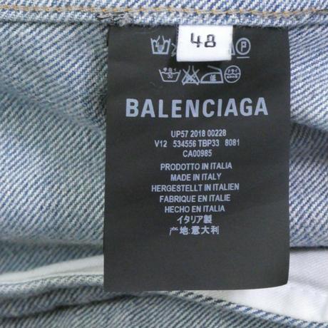 BALENCIAGA グラフィティデニムジャケット 48