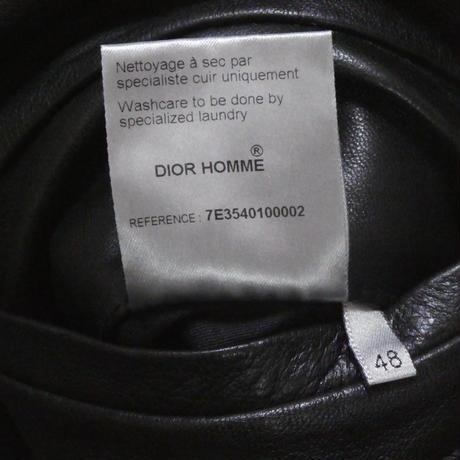 DIOR HOMME レザージャケット 48