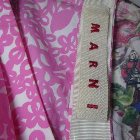 MARNI フラワープリントドレス 40