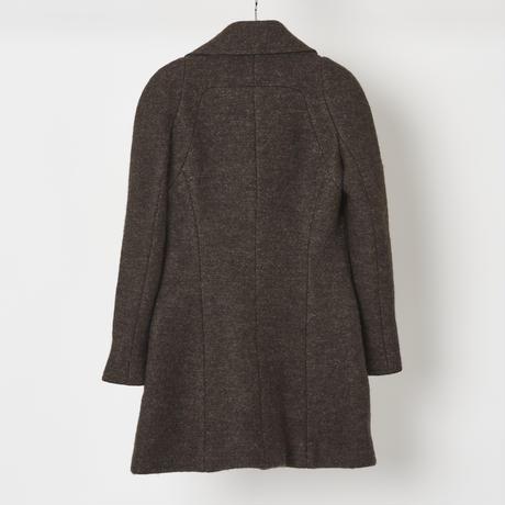 CHANEL 刺繍ウールコート 38