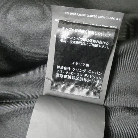 サンローラン モトルドパイソンジャケット 48