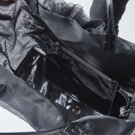 VALENTINO フラワーモチーフ ハンドバッグ