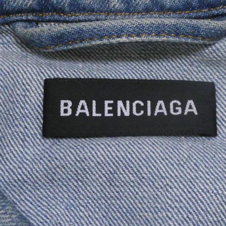 BALENCIAGA グラフィティ デニムジャケット 50
