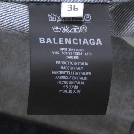 BALENCIAGA グラフィティ デニムジャケット 36