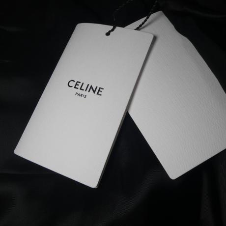 CELINE クロコダイルラメパターンブルゾン 48