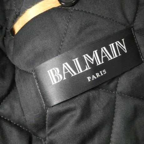 BALMAIN ハラコライダースジャケット 44