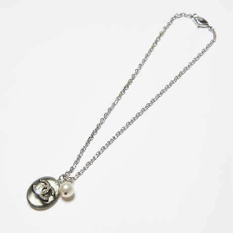 CHANEL 水晶ネックレス
