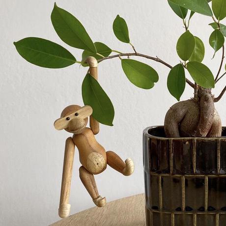 【世界中で愛され続けている木製アニマル】カイ・ボイスン「モンキーミニ」