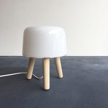 照明:北欧の優しい灯りのフロア&テーブルランプ(milk|ミルク)【受注発注】