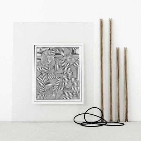【アート】シンプルを追求した北欧(デンマーク)のアートフレーム _A5