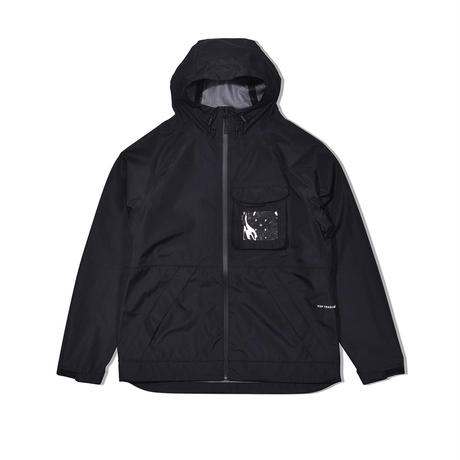 POP TRADING COMPANY  ORACLE JACKET BLACK