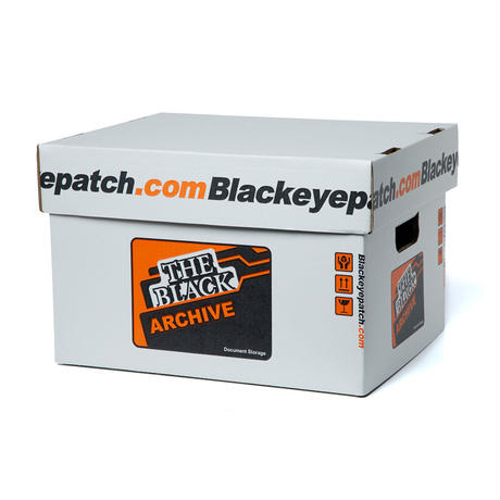 BLACK EYE PATCH ARCHIVE BOX (3 PIECES)