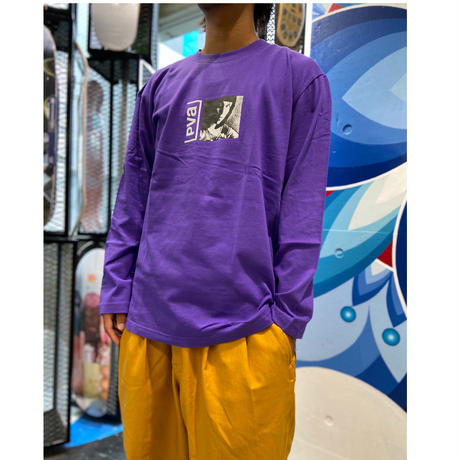 POVAL CINEMA L/S TEE PURPLE